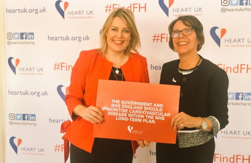 Mims Davies Heart UK
