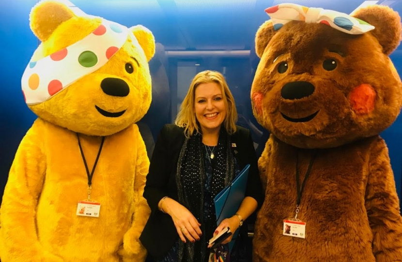 Mims with Pudsey