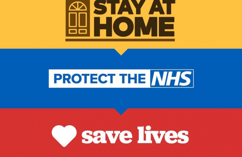 Stay at Home Protect the NHS Save Lives