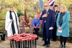 Mims Davies at Botley Remembrance