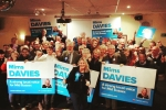 Mims and the Mid Sussex Team in Burgess Hill at the campaign launch